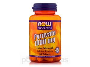 NOW Sports - Pyruvate Extra Strength 1000 mg - 90 Tablets by NOW