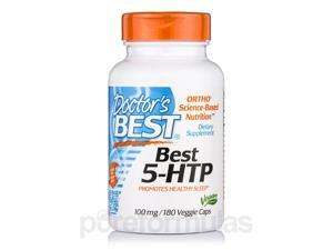 Best 5-HTP 100 mg - 180 Veggie Capsules by Doctor's Best