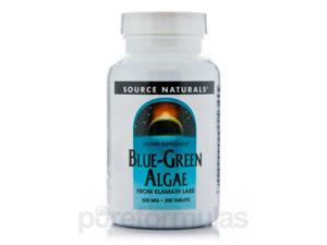 Blue Green Algae 500 mg - 200 Tablets by Source Naturals