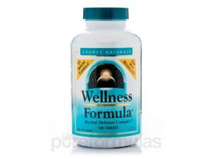 Wellness Formula - 180 Tablets (CA) by Source Naturals