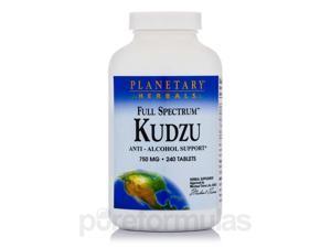 Full Spectrum Kudzu 750 mg - 240 Tablets by Planetary Herbals