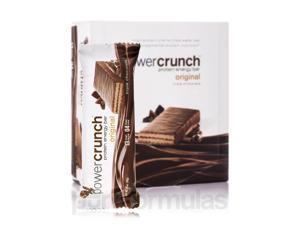 Power Crunch Original Protein Energy Bar, Triple Chocolate - Box of 12 Wafer Bar