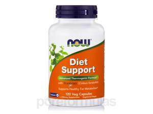 Diet Support - 120 Vegetarian Capsules by NOW