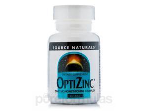 Optizinc Monomethionine - 120 Tablets by Source Naturals
