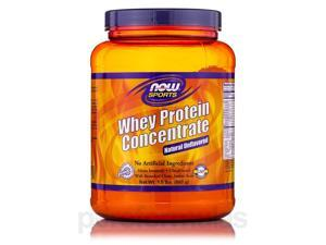 NOW Sports - Whey Protein Concentrate (Natural Unflavored) - 1.5 lb (680 Grams)