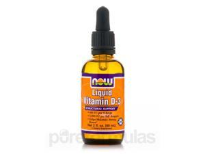 Liquid Vitamin D-3 - 2 fl. oz (60 ml) by NOW