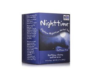 NOW Real Tea - Nighttime Tea Bags - Box of 24 Packets by NOW