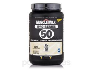 GF Muscle Milk Pro Series 50 Vanilla - 2.54 lbs (40.7 oz / 1154 Grams) by CytoSp
