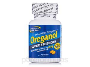 Oreganol Super Strength P73 - 60 Softgels by North American Herb and Spice