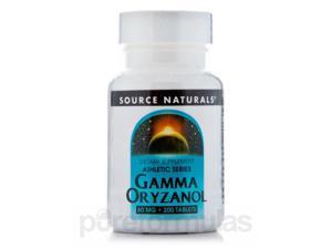 Gamma Oryzanol 60 mg - 200 Tablets by Source Naturals