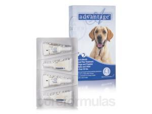 Advantage for Dogs and Puppies (7 weeks and older, over 55 lbs) - Four Tubes (0