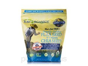 Organic Flax Meal plus Chia Seeds - 12 oz (340 Grams) by Garden of Life