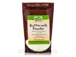 NOW Real Food - Buttermilk Powder - 14 oz (397 Grams) by NOW