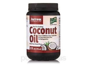 Coconut Oil (Organic) Neutral Flavor - 32 fl. oz (946 ml) by Jarrow Formulas