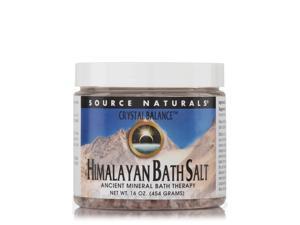 Crystal Balance Himalayan Bath Salt - 16 oz (454 Grams) by Source Naturals