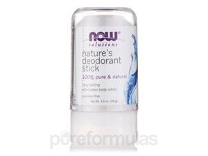 NOW Solutions - Nature's Deodorant Stick - 3.5 oz (99 Grams) by NOW