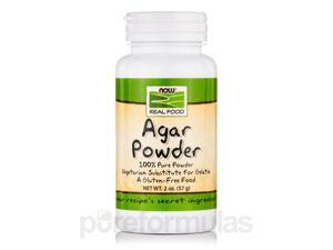 NOW Real Food - Agar Powder - 2 oz (57 Grams) by NOW
