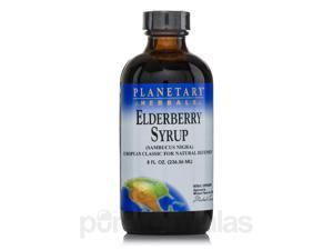 Elderberry Syrup - 8 fl. oz (236.56 ml) by Planetary Herbals