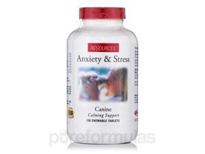 Anxiety & Stress for Dogs - 120 Chewable Tablets by Resources