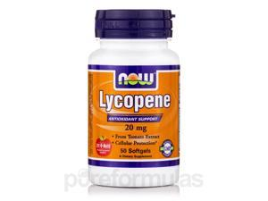 Lycopene 20 mg - 50 Softgels by NOW
