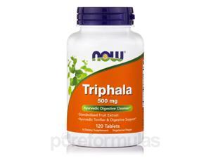 Triphala 500 mg - 120 Tablets by NOW