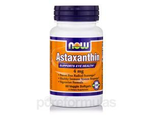 Astaxanthin 4 mg - 60 Veggie Softgels by NOW