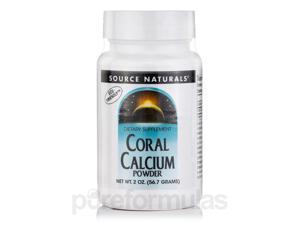 Coral Calcium Powder - 2 oz (56.7 Grams) by Source Naturals