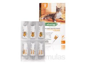 Advantage? for Cats and Kittens (8 weeks and older, up to 9 lbs) - Six Tubes (0.