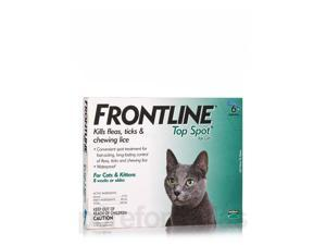 Frontline Top Spot for Cats and Kittens (8 weeks or older) - 6 Applicators by