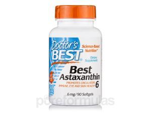 Best Astaxanthin 6 mg - 90 Softgels by Doctor's Best