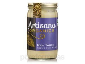 Organic Raw Tahini Sesame Seed Butter - 14 oz (397 Grams) by Artisana