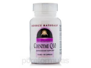 Co-Q10 75 mg - 90 Capsules by Source Naturals