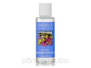 Vegetable Glycerine - 4 fl. oz (118 ml) by Starwest Botanicals