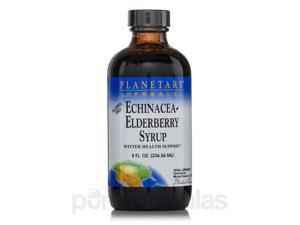 Echinacea-Elderberry Syrup (Alcohol Free) - 8 fl. oz (236.56 ml) by Planetary He
