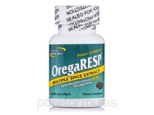 OregaRESP P73 140 mg - 60 Softgels by North American Herb and Spice