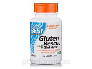 Doctor's Best Gluten Rescue with Glutalytic 60 Veg Caps