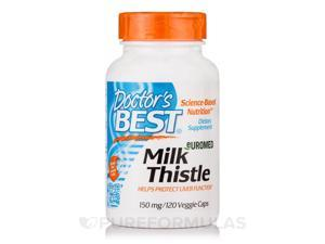 Milk Thistle 150 mg - 120 Veggie Capsules by Doctor's Best