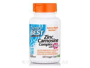 Zinc Carnosine Complex with PepZin GI - 120 Veggie Capsules by Doctor's Best