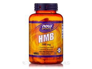 NOW Sports - HMB 500 mg - 120 Veg Capsules by NOW
