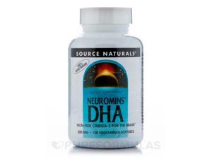 DHA Neuromins 200 mg - 120 Softgels by Source Naturals