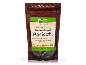 NOW Real Food - Apricots (Certified Organic Unsweetened) - 16 oz (454 Grams) by