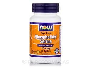 Phosphatidyl Serine (Soy Free) 150 mg - 60 Tablets by NOW