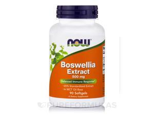 Boswellia Extract 500 mg - 90 Softgels by NOW
