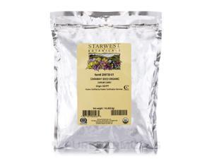 Organic Caraway Seed - 1 lb (453.6 Grams) by Starwest Botanicals