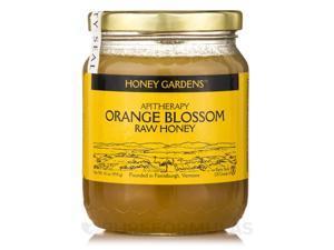 Raw Honey Orange Blossom - 16 oz (454 Grams) by Honey Gardens