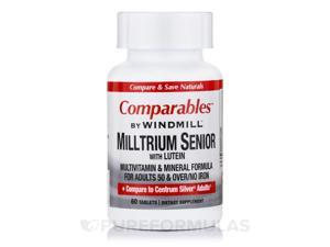 Milltrium Senior with Lutein - 60 Tablets by Windmill