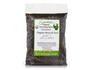 Sproutman Organic Broccoli Seed - 1 lb (454 Grams) by Tribest