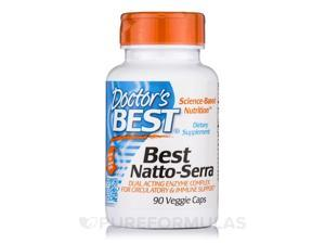Best Natto-Serra - Doctors Best - 90 - VegCap