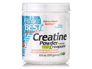 Creatine Powder featuring Creapure - 10.6 oz (300 Grams) by Doctor's Best