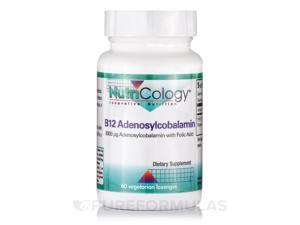 B12 Adenosylcobalamin - 60 Vegetarian Lozenges by NutriCology